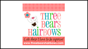 Three Bears Hairbows